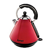 Homark HMKT200RD 1.8L 3kw Pyramid Style Cordless Kettle in Red