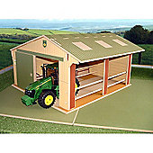 Brushwood Bt9500 Large Scale Toy Farm Utility Shed - 1:16 Farm Toys