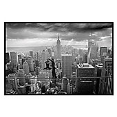 Thomas Barbey Gloss Black Framed Fearless Passion Poster