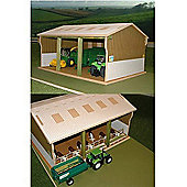 Brushwood Bt5000 Tractor Shed - 1:32 Farm Toys