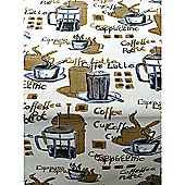 Cafe Royal 200cm x 135cm Oilcloth Tablecloth