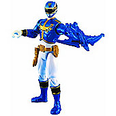 Power Rangers Megaforce 10cm Metallic Force Figure - Blue Ranger