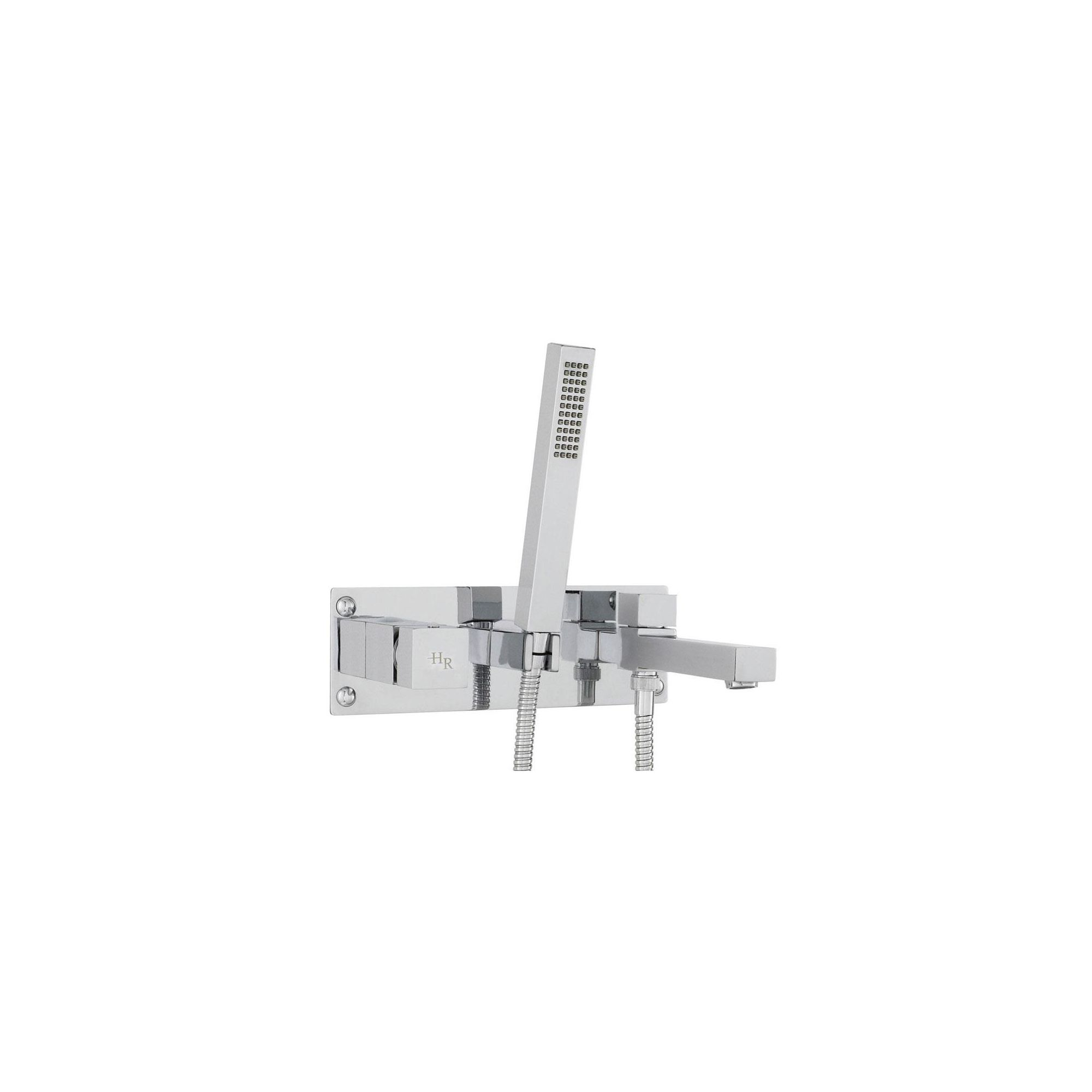 Hudson Reed Square Wall Mounted Bath Shower Mixer at Tesco Direct
