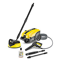 K4 Silent Home Pressure Washer and T350 Patio Cleaner
