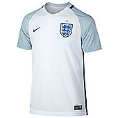 Nike England Junior Football Replica Home Euro 2016 Jersey - White