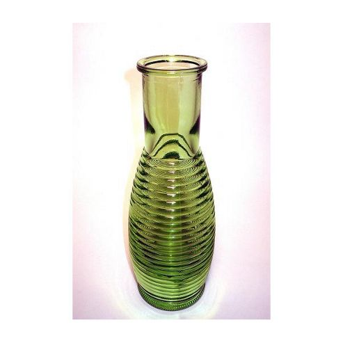 San Miguel Coloured Glass Carafe in Green