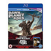 Dawn Of The Planet Of The Apes (Blu-ray & UV)