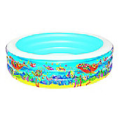 "Aquarium Round Paddling Pool 90"" - 51123"