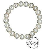 Freshwater Pearl Baby Charm Bracelet