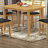 Elements Athens Oak Dining Table - 110cm W x 70cm D