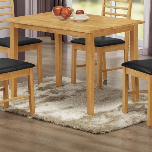 Elements Athens Oak Dining Table - 110cm W x 70cm D