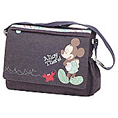 Obaby Changing Bag Retro Mickey Denim