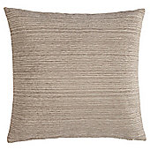 Stripe Chenille Cushion, Cream