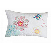 Daisy Floral Quilted Children's Pillowcase