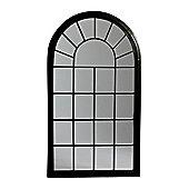 Pharmore Ltd Window Mirror I - Black