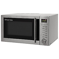 Russell Hobbs RHM2048SS Solo Microwave, 20L - Stainless Steel