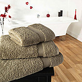 Luxury 600gsm Supreme 100% Egyptian Cotton Towel - Beige