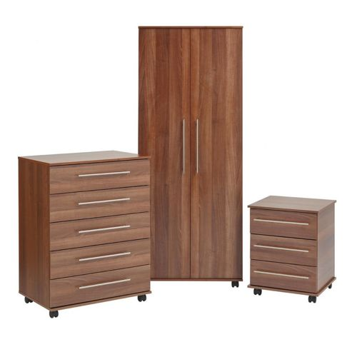 Ideal Furniture Bobby Bedroom Collection - Aida Walnut