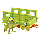 Tomy Dinosaur Train Tiny with Train Car