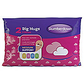 Slumberdown Pillows Twinpack - Big Hugs