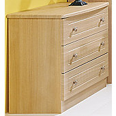 Welcome Furniture Warwick 3 Drawer Chest - Cream
