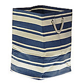 Wicker Valley Tobs Soft Storage New England Tall Square Bag in Blue