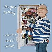 Holy Mackerel Greeting Card - Birthday fridge Birthday, Anniversary card