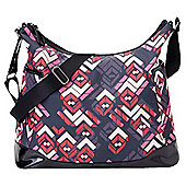 OiOi Changing Bag Rose Chevron
