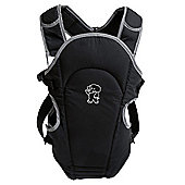 Tippitoes 2 Way Front Baby Carrier (Black)