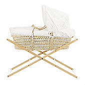 OBaby Folding Moses Basket Stand (Natural)