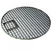 Large Round Galvanised Steel Water Feature Grid (114cm Ø)