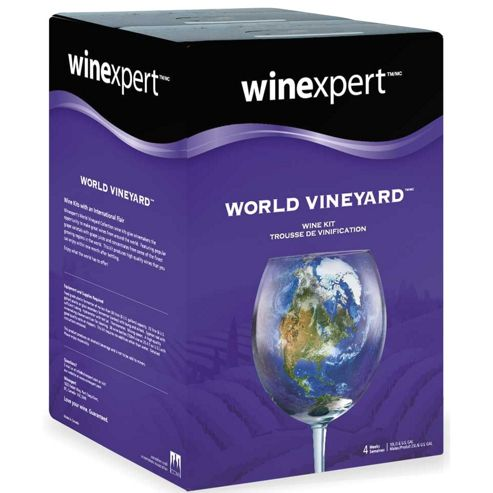 World Vineyard Italian Pinot Grigio - 30 Bottle White Wine Kit