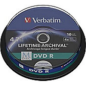 Verbatim DVD Recordable Media - DVD-R, 10 Pack