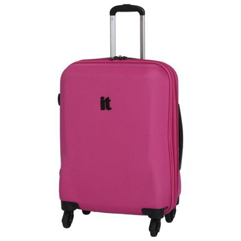 buy it luggage frameless 4 wheel suitcase honeysuckle. Black Bedroom Furniture Sets. Home Design Ideas