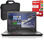 "Lenovo ThinkPad E565 20EY000XUK 15.6"" Laptop With Internet Security & Case"