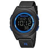 Reebok Di-R Mens Silicone Alarm Stopwatch Watch RC-DBP-G9-PBPB-BL