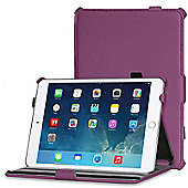 Apple iPad Mini 1 / 2 / 3 / 4 Purple Leather Look Case Cover