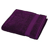 Egyptian Cotton Purple Bath Sheet