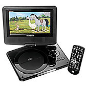 "Technika 7"" Portable DVD Player With Digital Screen TK7PDVD113"