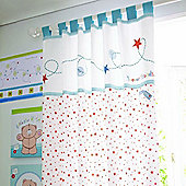 Forever Friends Little Star Tab Top Curtains