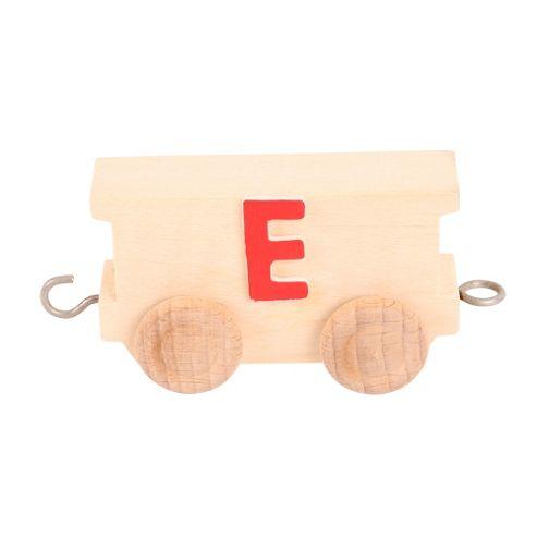 Bigjigs Toys BJ201E Name Train Letter E