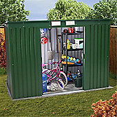 Sutton Pent Roof Metal Shed 6 x 4