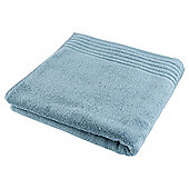 Tesco Egyptian Cotton Bath Sheet, - Blue