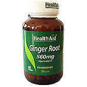 Ginger Extract 550mg - Standardised