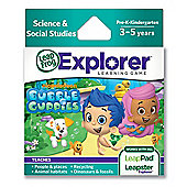 LeapFrog Explorer Learning Game :  Nickelodeon Bubble Guppies Game
