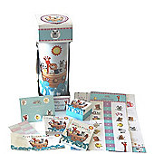 Baby Boy Gift Dumbo Elephant Nappy Cake (Three tier)