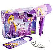 Disney Princess Rapunzel Enchant Hair Dryer Set