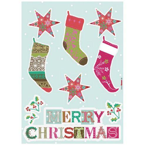 Komar Merry Christmas Wall Tattoo - 50 x 70 cm