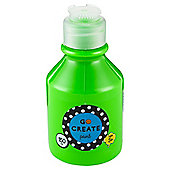 Go Create Ready Mixed Paint 150ml - Neon Green
