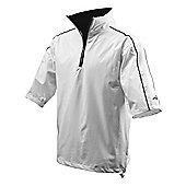 Woodworm Golf Waterproof Half Sleeve Top - White